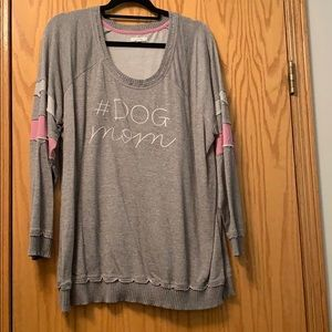 """NWOT! Maurices """"dog mom"""" distressed sweater size 2"""
